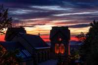 Sunset - St Francis Cathedral